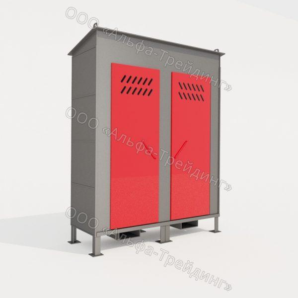 ШХБ - 01-02 шкаф для баллонов