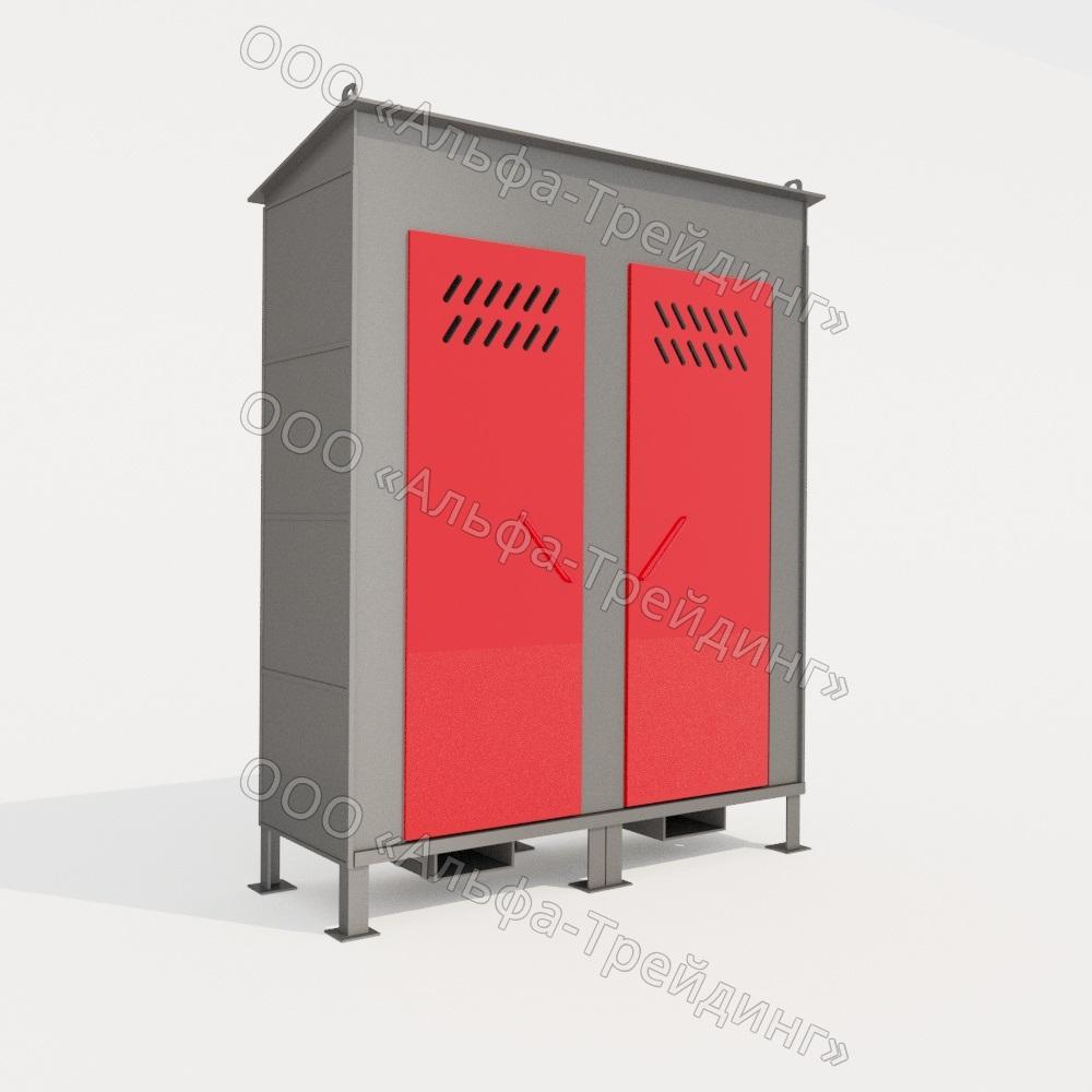 ШХБ — 01-02 шкаф для баллонов