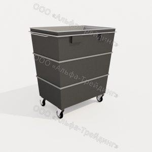 КМП-01-02 контейнер мусорный
