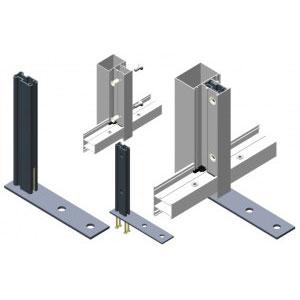 Узлы и крепления для фасадных систем