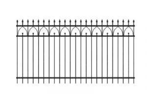 Забор из профильной трубы №6