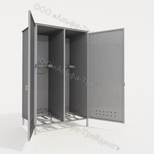 Шкафы для одежды, обуви, уборочного инвентаря (ШОМ)